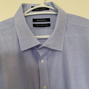 """Saks Fifth Avenue"" NEW Dress Shirt in SIZE 18"